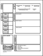 CHOMP! A Survival Horror RPG Character Sheet
