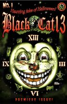 Black Cat 13 Haunting Tales of Halloween #1