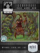 Stock Art - Wild Elf Shaman + Familiar