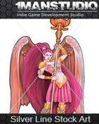 Stock Art - Angel of Mercy / Science-Fantasy