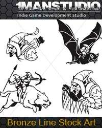 Free Stock Art - 19 Goblin Vector Icons EPS