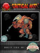 Stock Art - Fire Beast Warrior