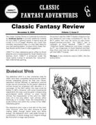 Classic Fantasy Review: Volume 1, Issue 2