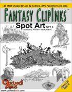 Fantasy Clip Inks :: Spot Art set 5