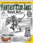 Fantasy Clip Inks:: Spot Art Set 8