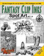 Fantasy Clip Inks:: Spot Art Set 10