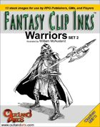 Fantasy Clip Inks:: Warriors set 2