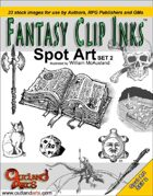 Fantasy Clip Inks:: Spot Art set 2