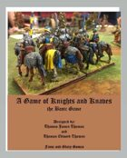A Game of Knights and Knaves - the Basic Game