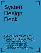System Design Card Deck