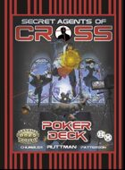 Secret Agents of CROSS Action Deck (Large Font / Simple Background)