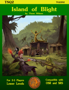 Island of Blight - Encounter Sheets