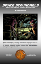 Space Scoundrels RPG Character Sheet