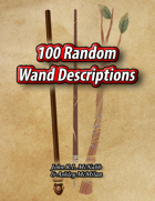 100 Random Wand Descriptions