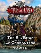 The Big Book of Characters (Morgalad) Volume 22 (NFF2021)