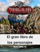 El gran libro de los personajes (Morgalad) Volume 16 (NFF)