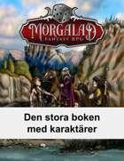 Den stora boken med karaktärer (Morgalad) Volume 17