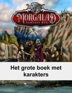 Het grote boek met karakters (Morgalad) Volume 22