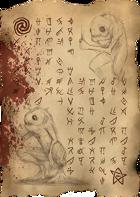 Necronomicon Page 97 Deep Ones (Horror Prop Handout)