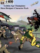 Golden Age Champions Hero Designer Character Pack