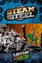Mecha vs Kaiju: Steam and Steel - A Steampunk Supplement for Fate Core/Condensed