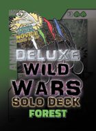 Wild Wars - Deluxe Solo Deck - Forest