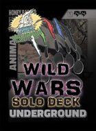 Wild Wars - Beginner Solo Deck - Underground