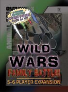 Wild Wars: Family Battle! - 5-6 Player Expansion