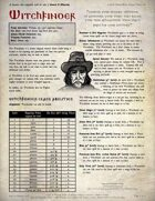 Witchfinder - A Swords & Wizardry Class
