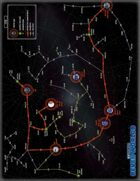 Seven Worlds - Starmap Poster