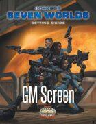 Seven Worlds GM Screen