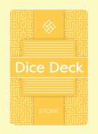 Dice Deck - Stone