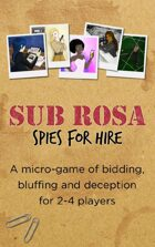 Sub Rosa: Spies for Hire (Premium PNP)