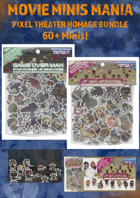 Movie Minis Mania - Homage Bundle - Pixel Theater [BUNDLE]