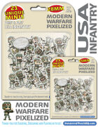 Modern Warfare - USA Infantry 28mm & 15mm - Pixelized!