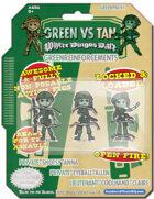 Green Vs. Tan - Green Reinforcements Pack 1 - Triple Heroes!