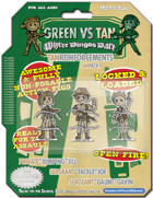 Green Vs. Tan - Tan Reinforcements Pack 1 - Triple Heroes!