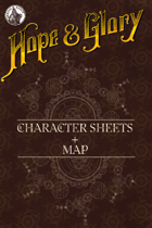 Hope&Glory: Raj Map & Character Sheet