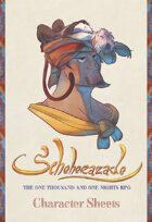 Scheherazade - Character Sheets