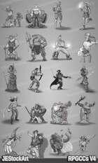 RPG Character Art Pack - Volume IV