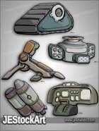 -JEStockPack- SciFi - Mech Equipment Pack 02