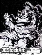 JEStockArt - Fantasy - Jolly Campside Warrior - HQIWB