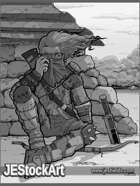 JEStockArt - Post Apocalypse - Shelter from the Storm - GWB