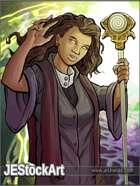 JEStockArt - Fantasy - Hypnotic Priestess With Staff - CWB