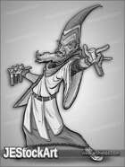 JEStockArt - Fantasy - Aged Alchemist with Vials - GNB