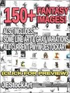 -JESMegaPack- JEStockArt Fantasy Pack 01 - 150+ Images