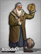 JEStockArt - History - Wise Astrologer with Astrolabe - CNB