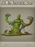 JEStockArt - Fantasy - Slime Elemental with Long Dripping Finger - CNB