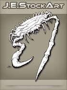 JEStockArt -Fantasy - Flat Armored Crab Creature - LNB