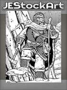 JEStockArt - Fantasy - Ice Travelling Winter Dwarven Ranger - IWB